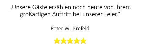 Beste Bewertung für Zauberer in Krefeld